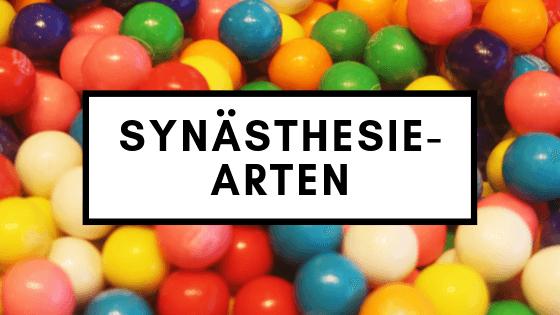 Synästhesie-Arten